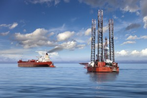 Foto offshore klein